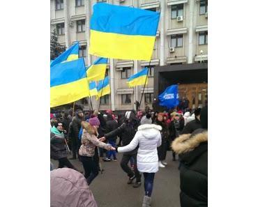 Die Ostukraine wehrt sich