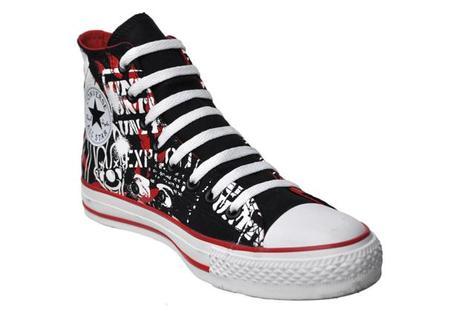 Converse Chucks 110786 Street Art Limited Edition