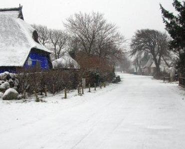 Eis und Schnee auf Hiddensee