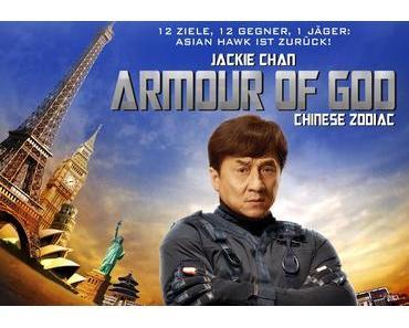 Review: ARMOUR OF GOD – CHINESE ZODIAC – Jackie Chan begibt sich auf Schatzsuche