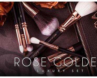 Neu im Hause Zoeva: The Rose Golden Luxury Set - Pinsel zum Verlieben ♥