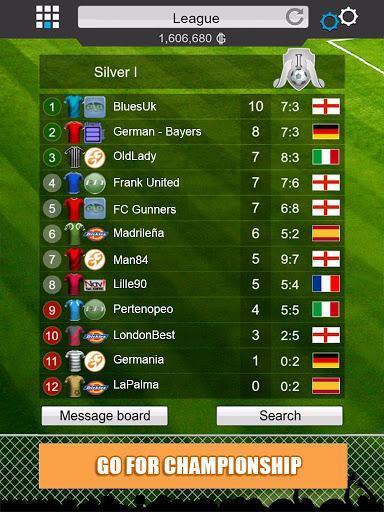 Взломанная игра GOAL 2014 - Football Manager v2.1.6.