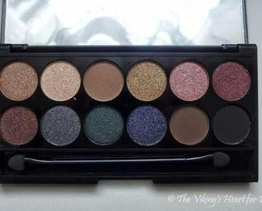"""[Review + Swatches] – Sleek I-Divine Palette """"Storm"""""""