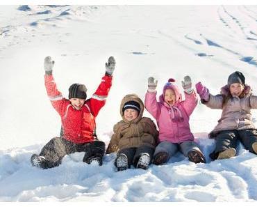 Kinder brauchen auch im Winter viel Bewegung