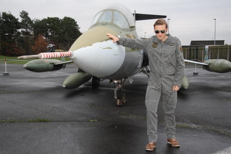 Outfit top gun re shooting