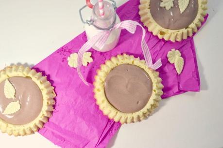 {Rezept} Pudding-Tartes für Zwischendurch.