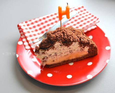 Birthday Cake Hier Das Rezept Man Nehme Fur Den Teig 100 G Butter 130 Zucker 2 Eier 150 Mehl 40 Kakao 1 TL Backpulver Die Fullung