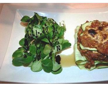 vegane Lasagne im Restaurant Edelsberger