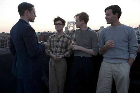 Ben Foster, Daniel Radcliffe, Dane DeHaan und Jack Huston in Kill your Darlings