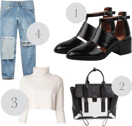 How to Style Cut-Out Boots (Look 2)