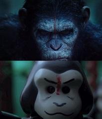 "Trailervergleich: ""Planet der Affen: Revolution"" - Original vs. Lego Movie"