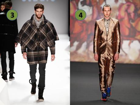 10 best looks for men Fashion Week Berlin AW 2014 - 2