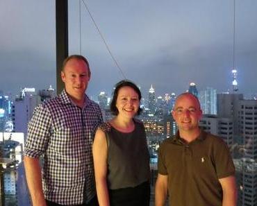 Besuch aus Shanghai, London, Singapur und 2x aus Deutschland