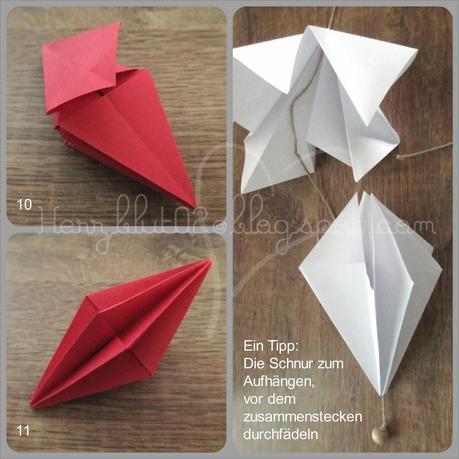 origami ornamente einfach selber machen. Black Bedroom Furniture Sets. Home Design Ideas