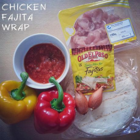 TEX-MEX-KÜCHE: Chicken Fajita Wrap