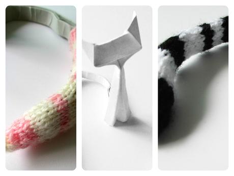 origami little cat die katze mit dem bunten schwanz. Black Bedroom Furniture Sets. Home Design Ideas