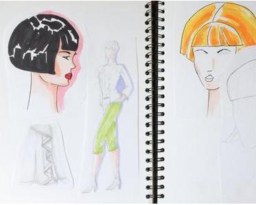Traumberuf Modedesigner - Studienfach Modezeichnen