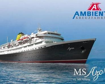 Ambiente Kreuzfahrten nutzt den neuen Anfang mit MS Azores auch für eine neu gestaltete Website!