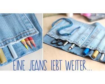 DIY: alte Jeans = Stifterolle!