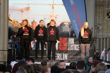 """One Billion Rising for Justice"" – Fotos aus Berlin"