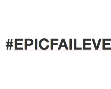 Epic Fail Event // 5 Geschichten, um aus Fehlern zu lernen…