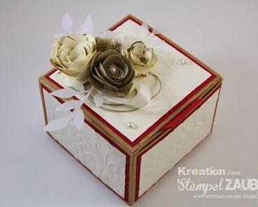 Geschenkbox zur goldenen Hochzeit