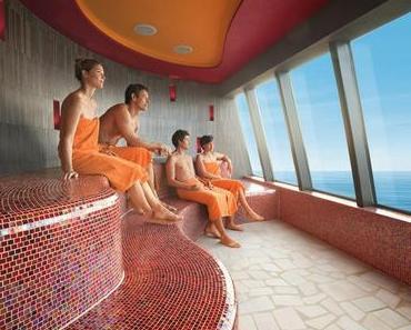 AIDA und die Therme Erding gehen gemeinsam auf Sauna & Spa-Kreuzfahrt