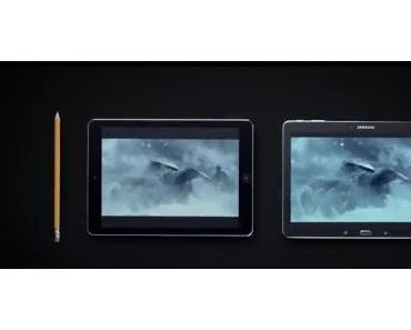 Samsung vs. Apple: Werbespot gegen iPhone 5S und iPad Air