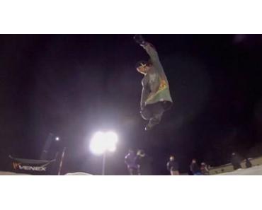 Red Bull Freeze 2014: Eine Eisbahn im Skatepark