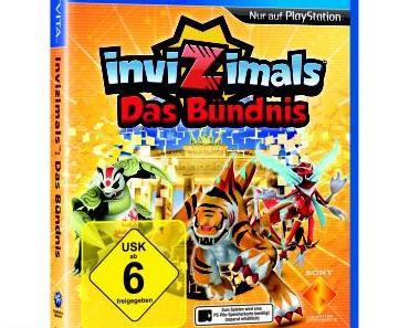 Neue, fantastische Invizimals™-Abenteuer erstmals für PlayStation®Vita und PlayStation®3