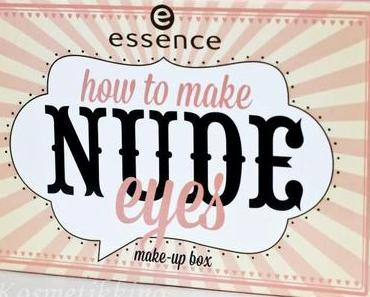 essence how to make Nude Eyes Palette, Review, Fotos, Swatches, Tragebilder