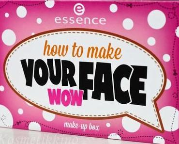 essence how to make Your Face Wow Palette, Review, Fotos, Swatches, Tragebilder