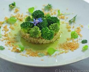 tierfreitag: Vorspeise mit Brokkoli und Romanesco