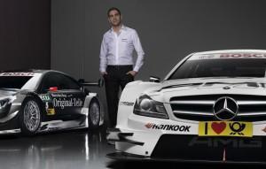 Vitaly Petrov gibt DTM-Debüt mit Mercedes-Benz