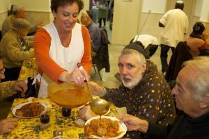 """""""Weil ich Jude bin"""":  In Nizza versorgt eine koschere Tafel Juden in Not"""