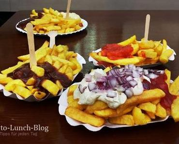 Wurstdurst: Belgische Pommes mit verschiedenen Soßen, Nürnberg