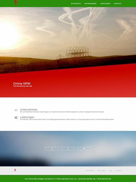 Online NRW hat neues Design