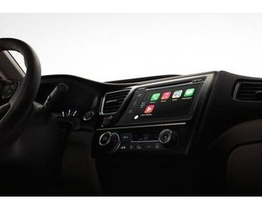 Apple zeigt CarPlay erstmals in Genf – iPhone im Auto