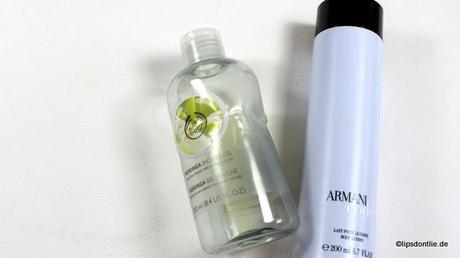 The Body Shop - Moringa Shower Gel · Armani Code Femme Body Lotion