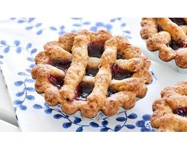Linzer-Törtchen glutenfrei, vegan & fructosearm