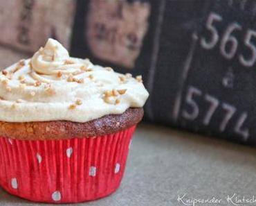 Wunderbar(e) Erdnuss - Karamell - Cupcakes