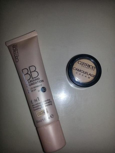 Catrice BB Allround Foundation & Catrice Camouflage Cream