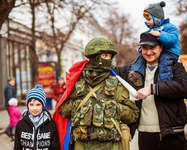 Die Krim ist gesichert, Putschisten greifen den Osten an