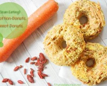 {Clean Eating} Karotten-Donuts mit Gojibeeren