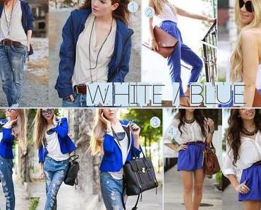 Lieblingstrend - Blau ♦ Weiß ♦ Jeans