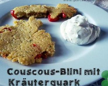 [ABC Kochen] Couscous-Blinis mit Kräuterquark
