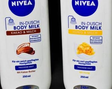 Neu bei dm: Nivea In-Dusch Body Milk Kakao & Milch + Honig & Milch