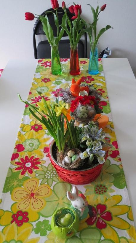 Into spring bloggeraktion diy tischdeko for Dekosand ikea