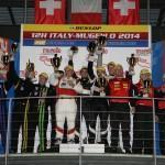 AF Corse gewinnt erste Auflage Dunlop 12H ITALY-MUGELLO