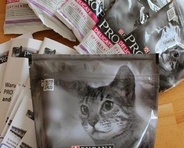 Wie unsere Katzen das neue Purnia PRO PLAN Delikate fanden